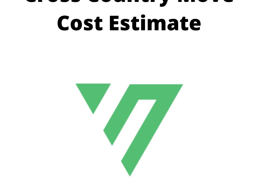 Cross Country Move Cost Estimate